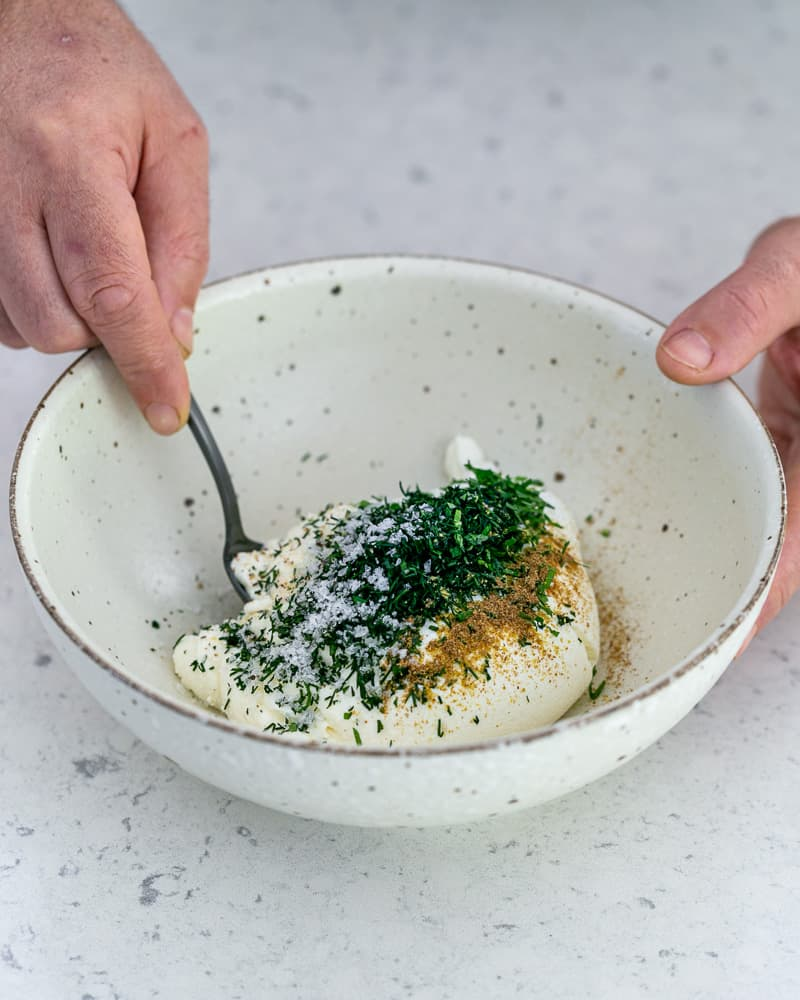 How to make herb labneh