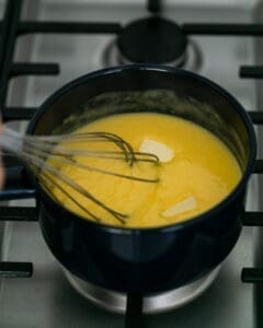 Butter in Passionfruit Curd